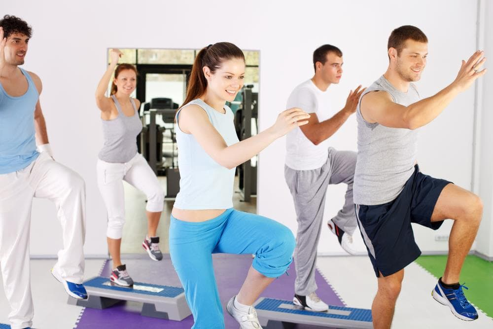 Do 35 minutes of aerobic exercise each day
