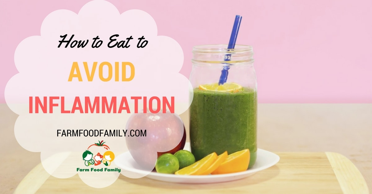 How to eat to avoid inflammation