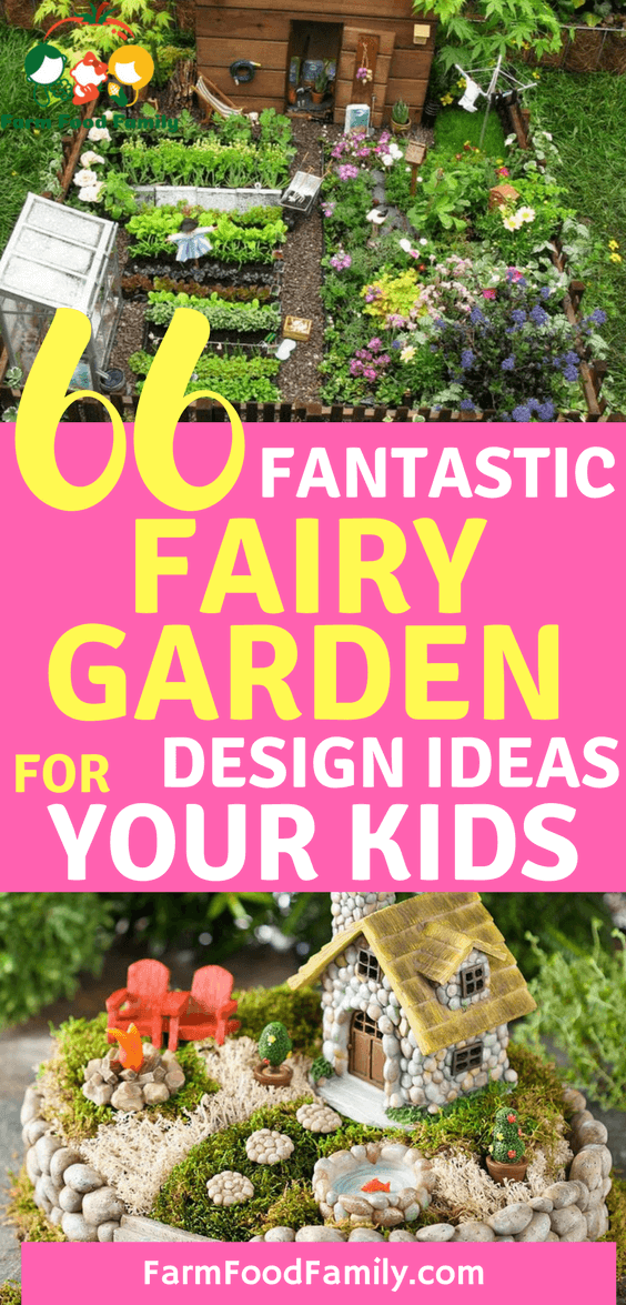 Find Out How To Make A DIY Magical Fairy Garden And Get Ideas For This  Enchanting