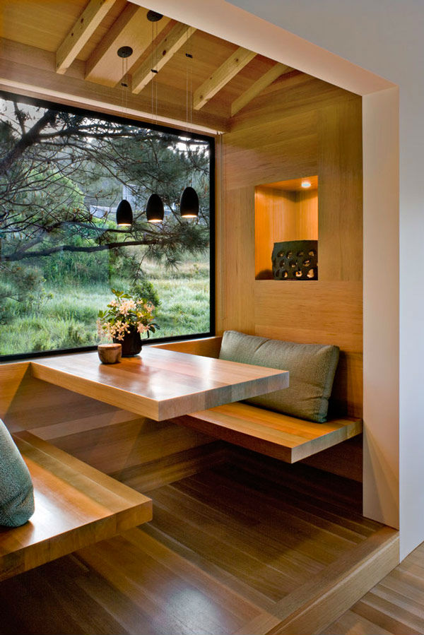 All About the Wood Breakfast Nook Ideas