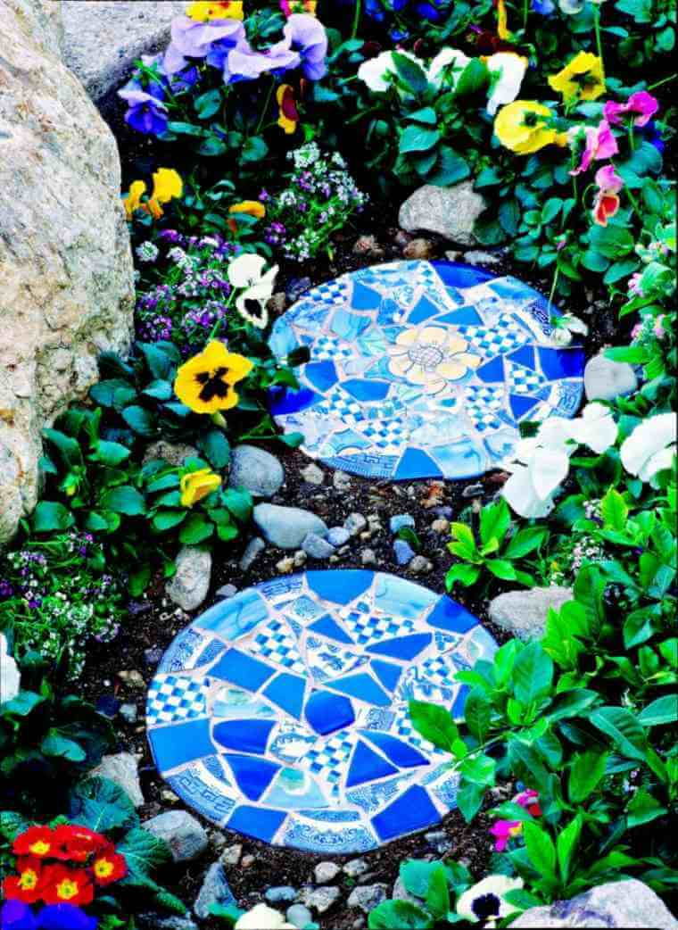 Truly Unique Stepping Stones