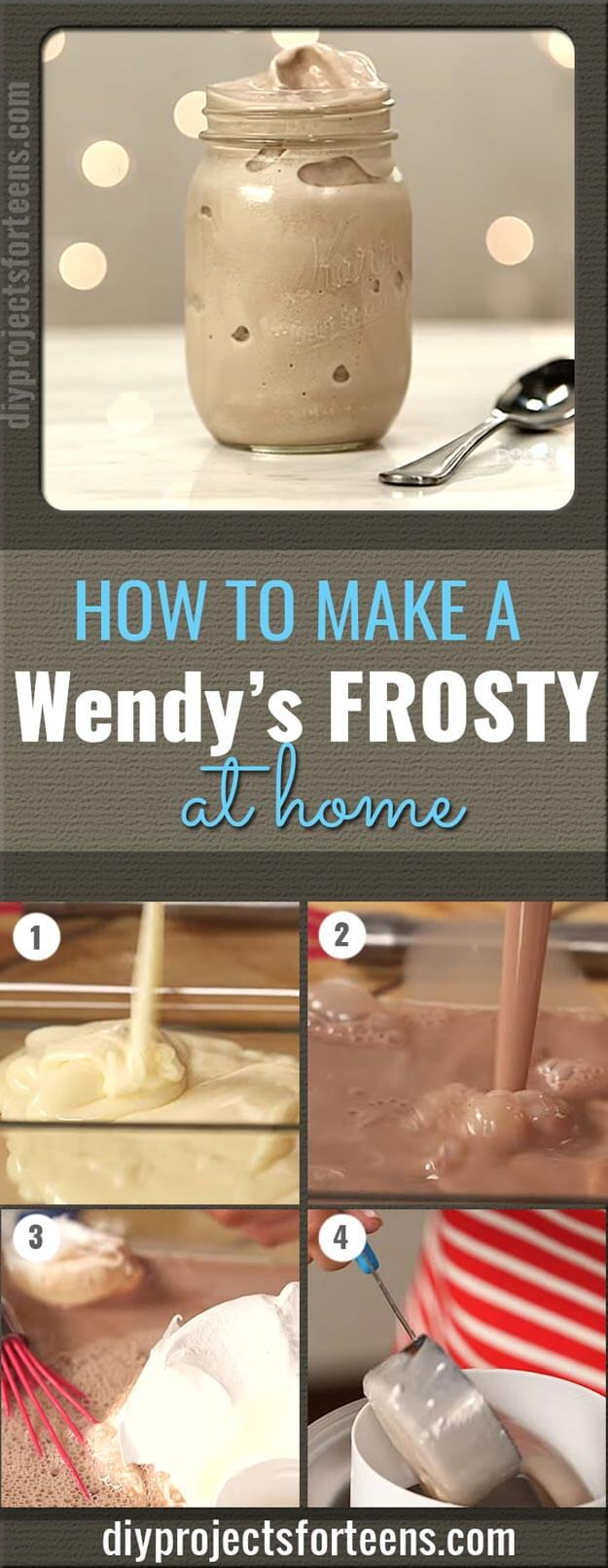 Make A Wendy's Frosty At Home With Only 3 Ingredients