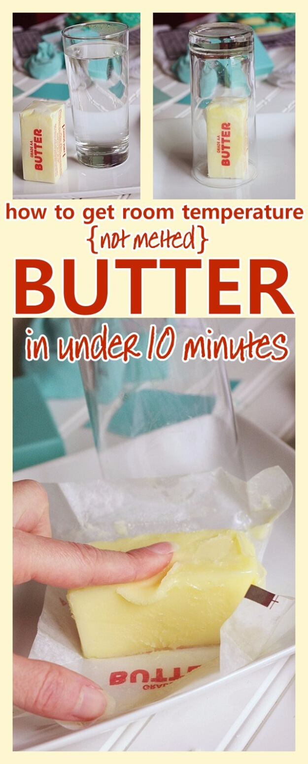 Get Softened Room Temperature Butter In Under 10 Minutes
