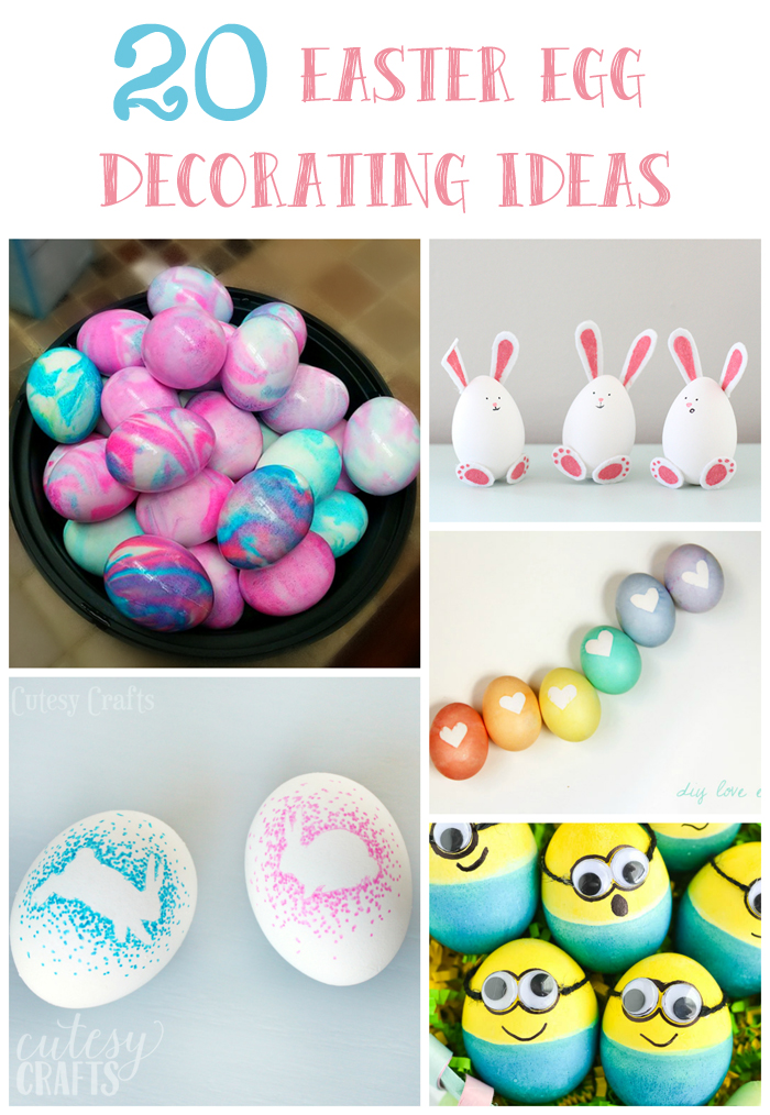 Sharpie Easter Egg Decorating Idea