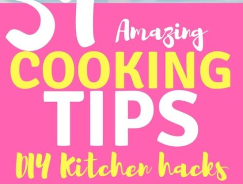 These tips plus 51 more will have you quickly speeding through your next recipe and looking forward to spending more time cooking in the kitchen, you may even have some of your friends in awe over your amazingly brilliant ways. (We promise we won't tell, either!)