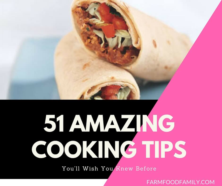 51 Amazing Cooking Tips And DIY Kitchen Hacks