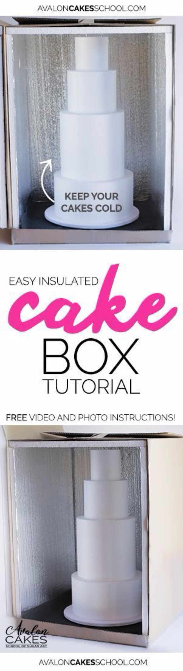 Easy Insulated Cake Box