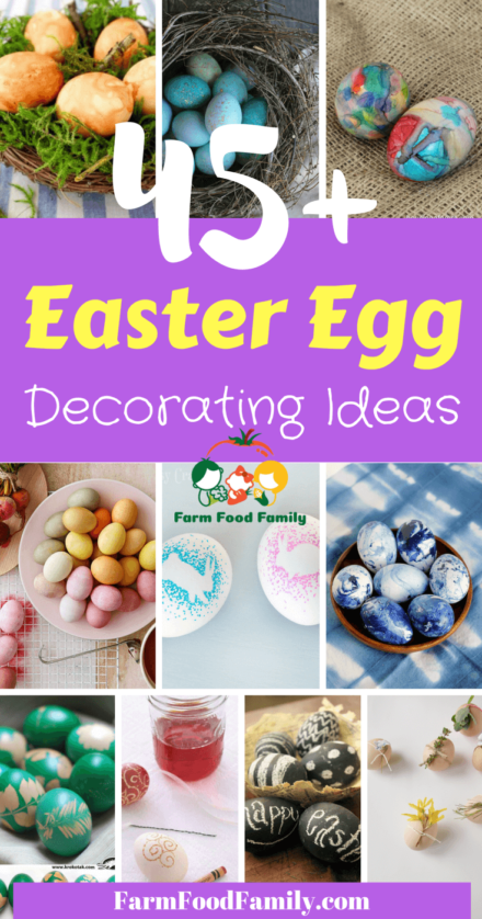 You're looking for cool egg decorating ideas for this Easter? Here are 45+ the best Unique Easter Egg Decorating ideas that we collected from our friends.