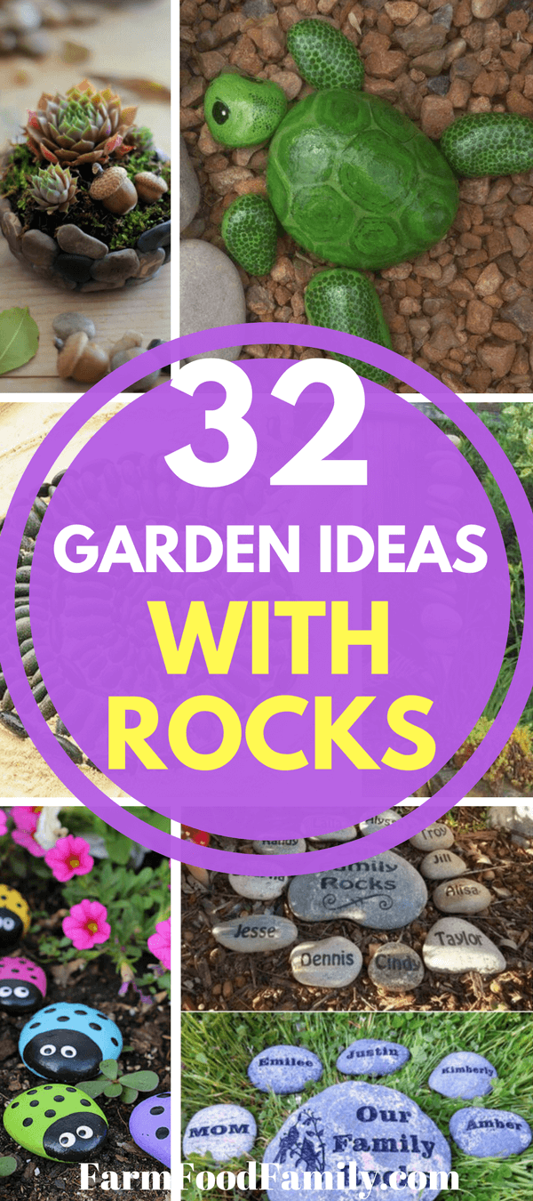 Stones and rocks are an affordable and unique way to decorate your outdoor space. That's why we've compiled this list of 32 fun DIY garden projects with rocks for you to try! Whether you use them to give your yard anatural feelor decorate them to add a pop of color, these homemade garden decoration ideas will fit any outdoor style.