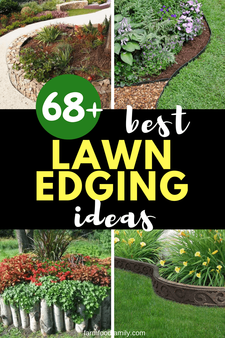 It's the subtle touches in your garden that make all the difference. So I've got 68+of the most creative garden edging ideasthat to enhance the overall shape and form of your garden.