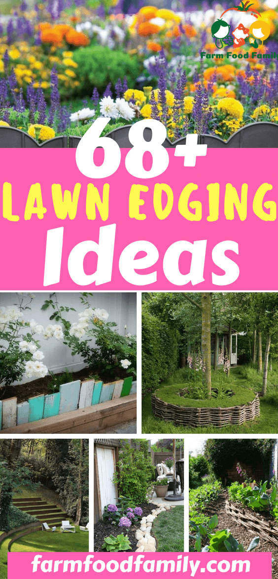 It's the subtle touches in your garden that make all the difference. So I've got 68+ of the most creative garden edging ideas that to enhance the overall shape and form of your garden.