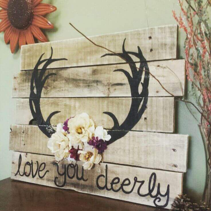 Love You Deerly Cabin Décor