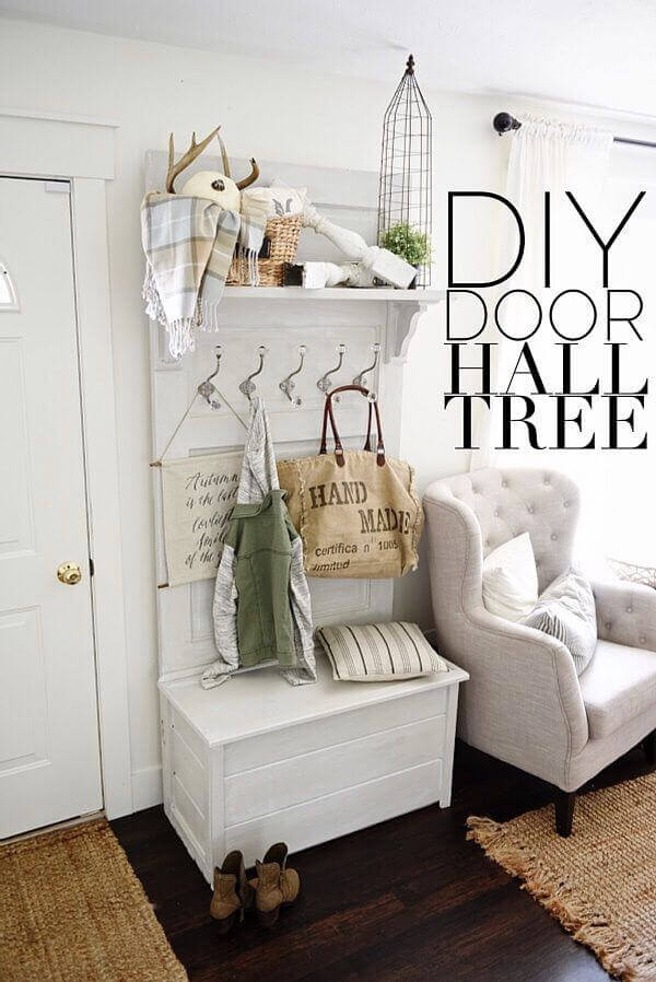 Combine Seating and Storage in One Piece