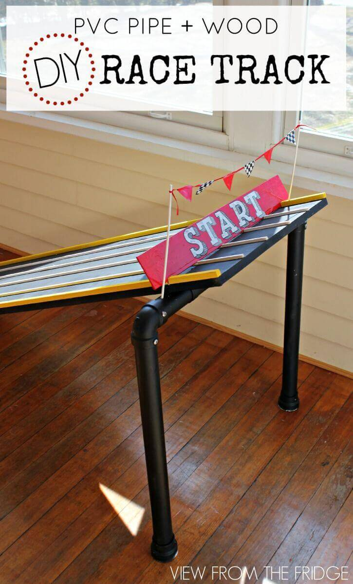 Toy Car Racing Ramp