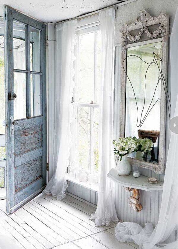 Let Light in with Sheer Curtains