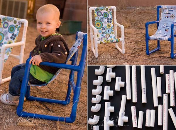 Make a lovely toddler chair