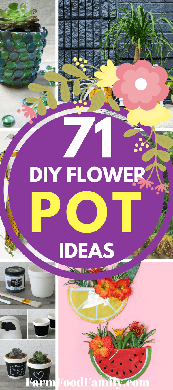 Pretty plants! And what's a super awesome succulent without the perfect planter? Here are 71 DIY planters for all those spring flowers.