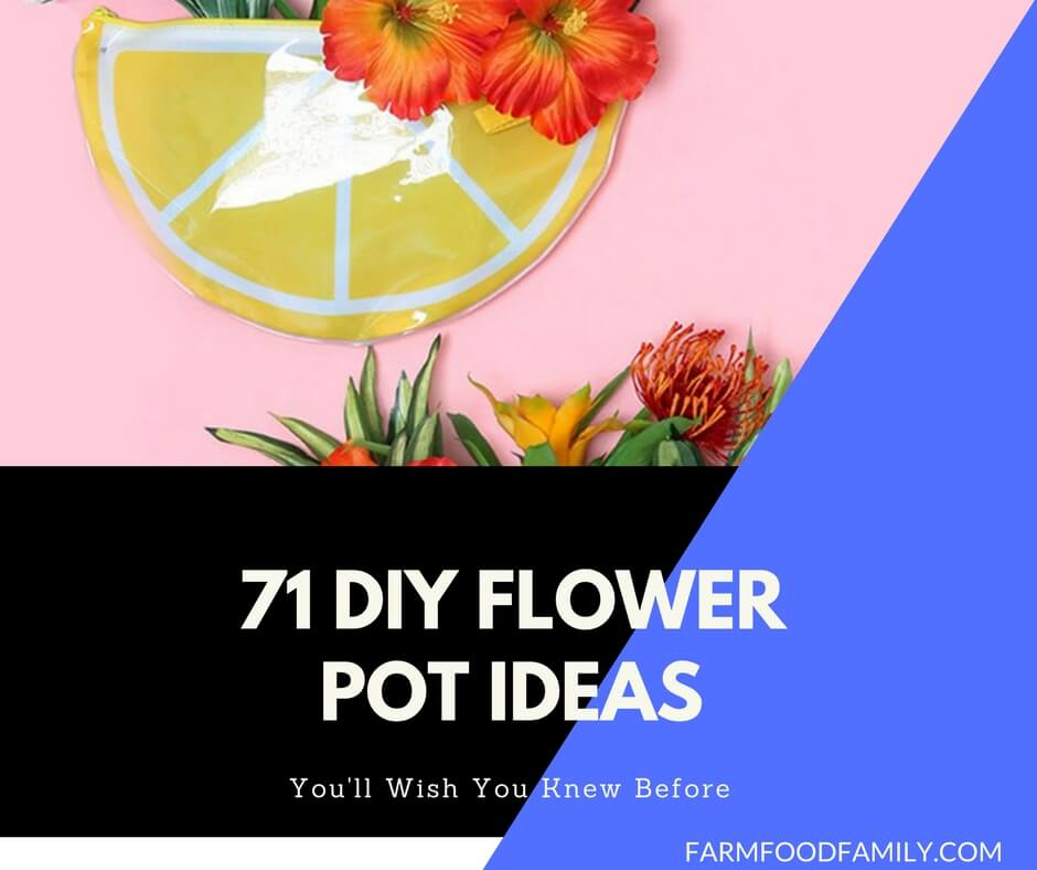 71 DIY Flower Pot Ideas