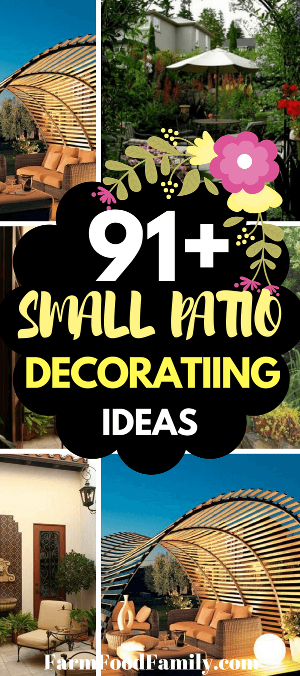 Even when you get a little space, you may add a patio! Even when you just have a little space, you're still able to entertain some little patio ideas. Yes, even when you just have a little space, you're still able to create a patio where you could sit and relish the outdoor locations