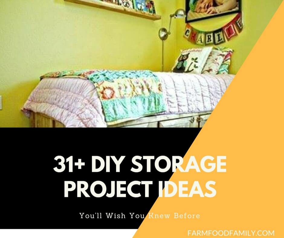 31+ DIY Rustic Organizing and Storage Projects