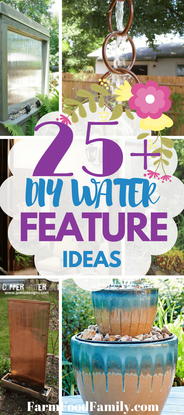 With a little bit of time and some items gathered from this diy water feature ideas list, you'll be on your way to spa-like bliss after you just add water!