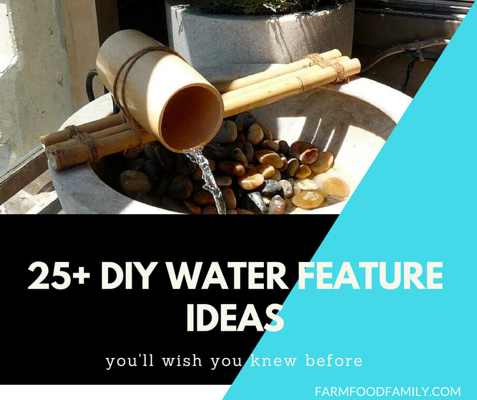 25+ Crystal Clear and Calming DIY Water Feature Ideas for Outdoor Beauty