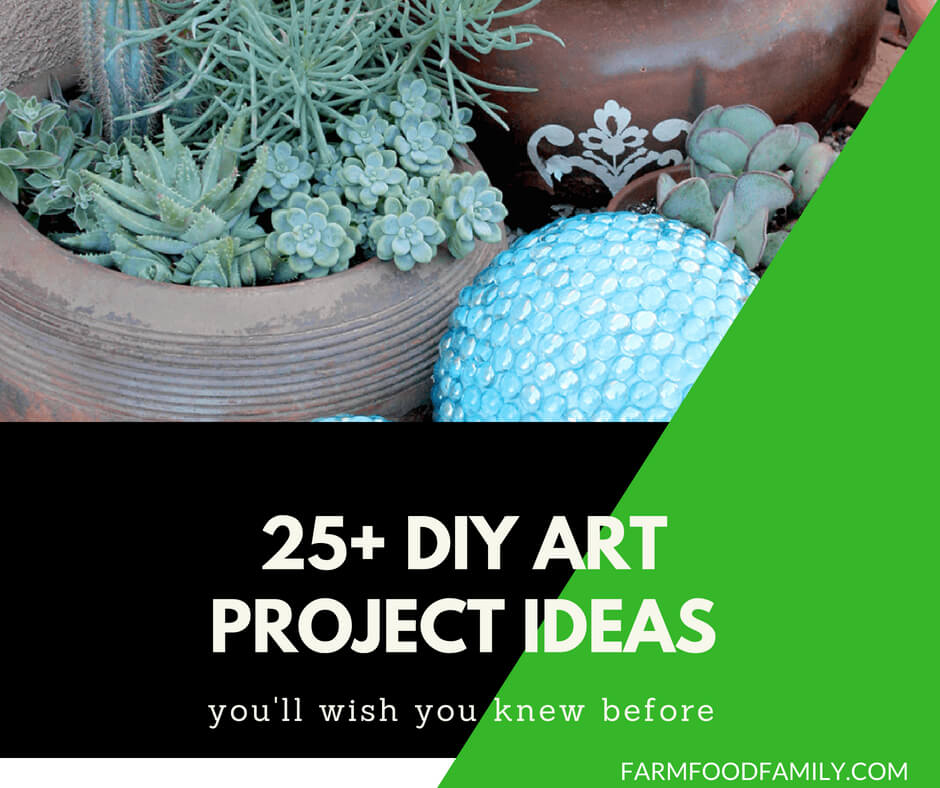 25+ Amazing DIY Art Projects To Dress Up Your Garden