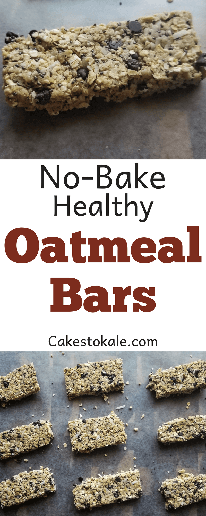 No Bake Healthy Oatmeal Bars - With VeganSmart