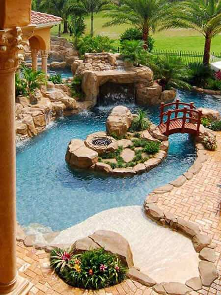 BLENDED BACKYARD