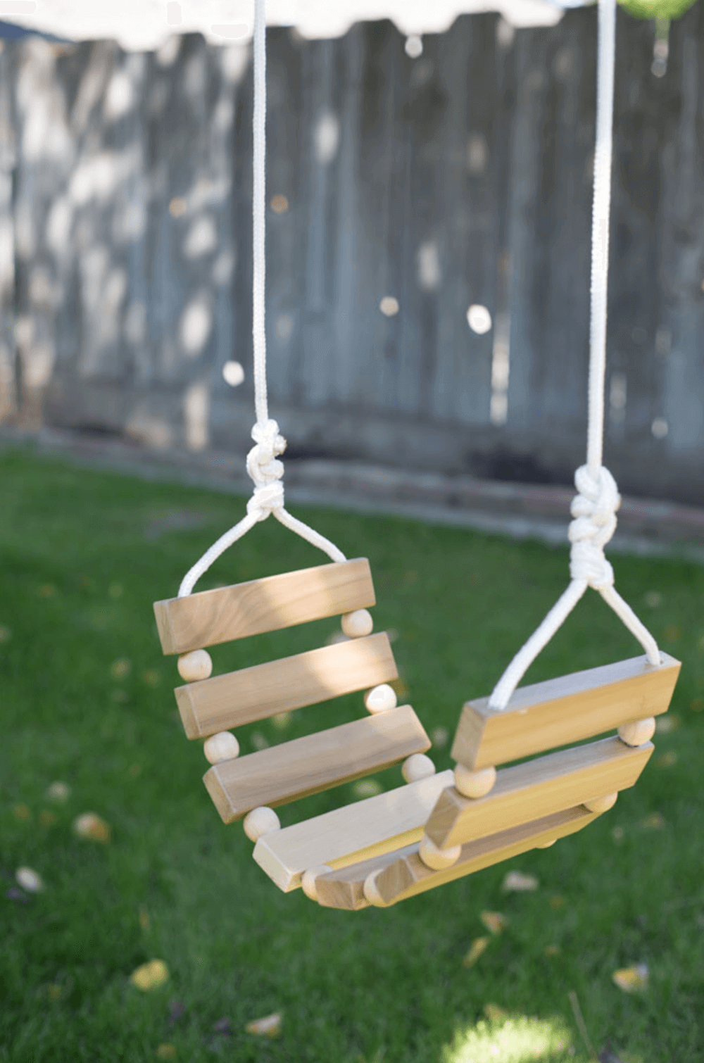 A Xylophone Style Swing for Little Ones