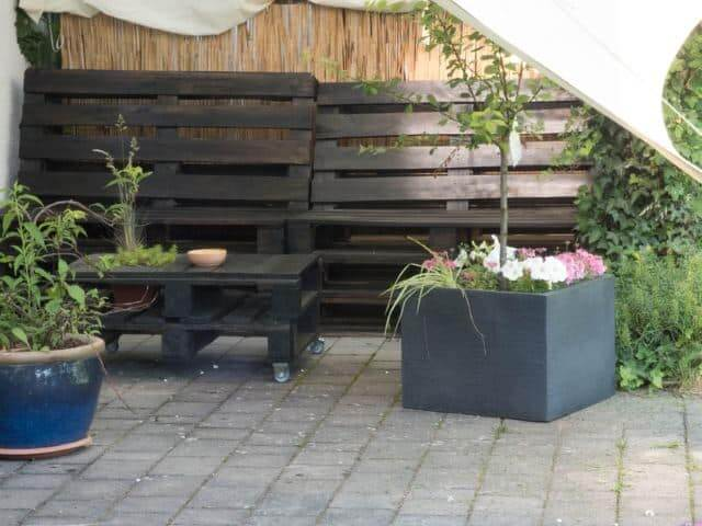 Covered Patio Furniture Set