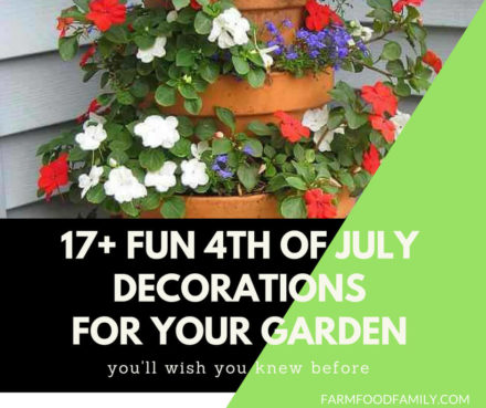 4th of July Decorations for your garden
