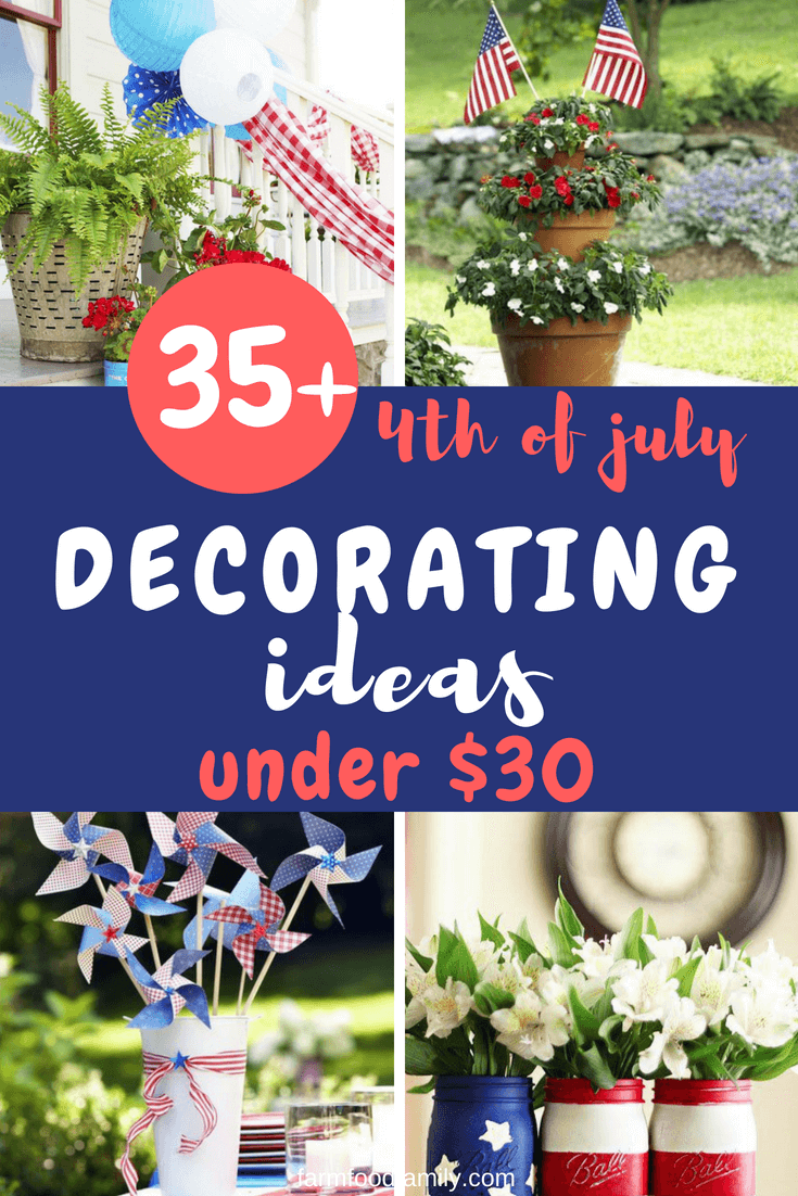 Show your pride in America with red, white and blue party decorations for Memorial Day, 4th of July or Veterans' Day. Find Patriotic Home Decor and Patriotic Party Decorations at low prices.