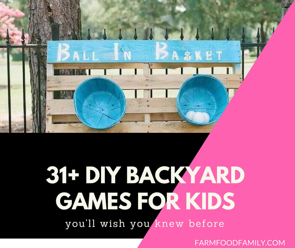 DIY Backyard Games for kids this summer