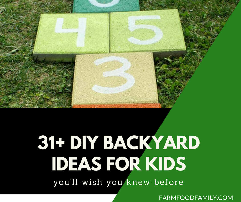 31+ DIY Backyard Ideas For Kids