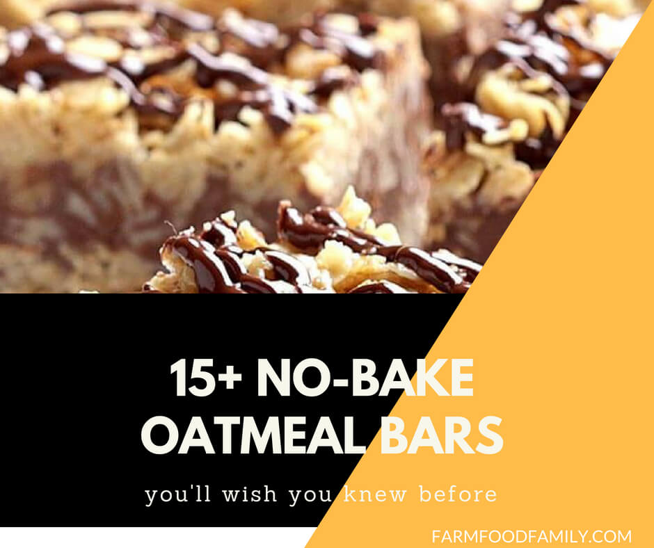 No Bake Oatmeal Bars
