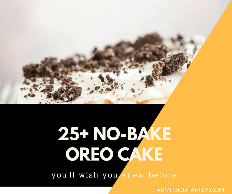 No Bake Oreo Cake Recipes