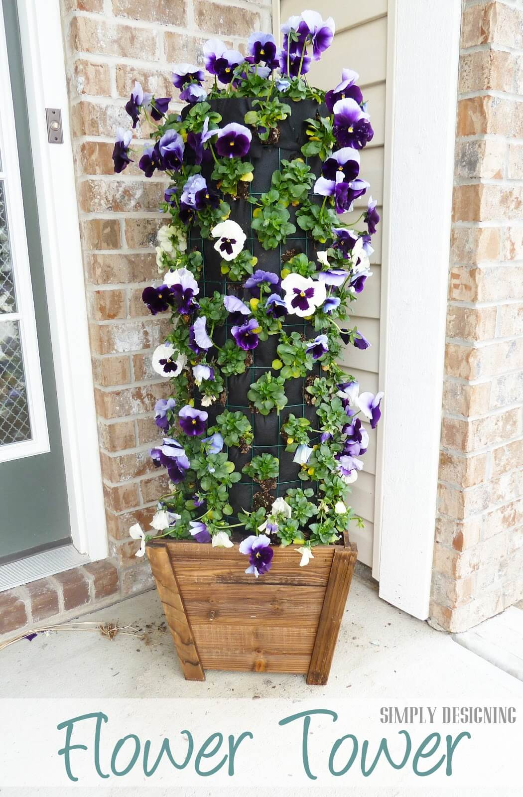 DIY Flower Towers Ideas: Deceptively Simple and Gorgeous Flower Tower