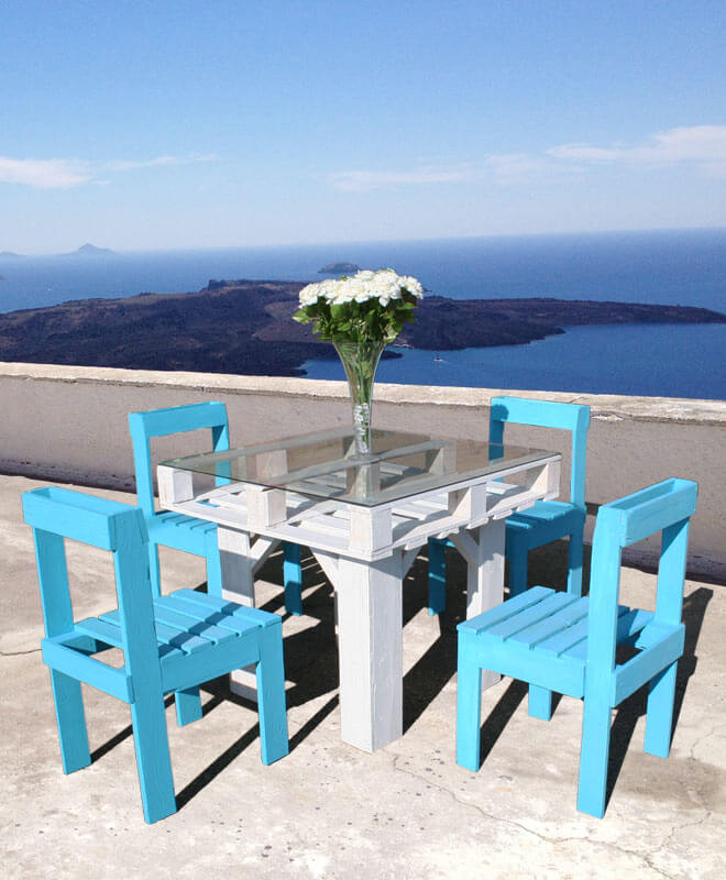 DIY Outdoor Furniture Projects: Ibiza Terrace Outdoor Dining Set