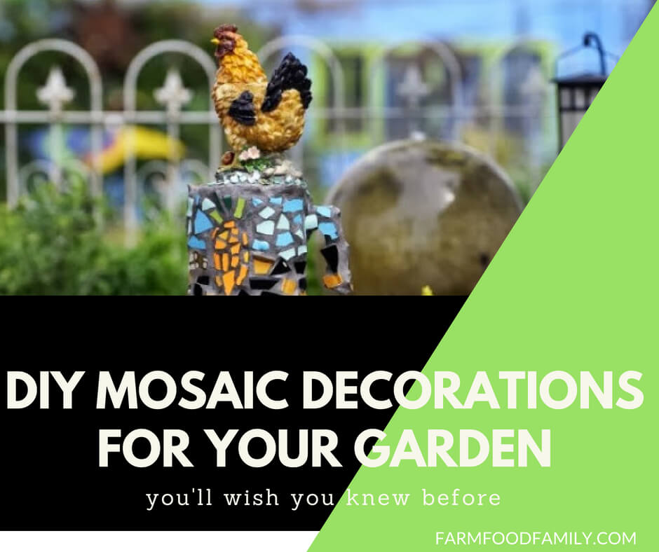 31+ Brillant DIY Mosaic Decorations for your garden