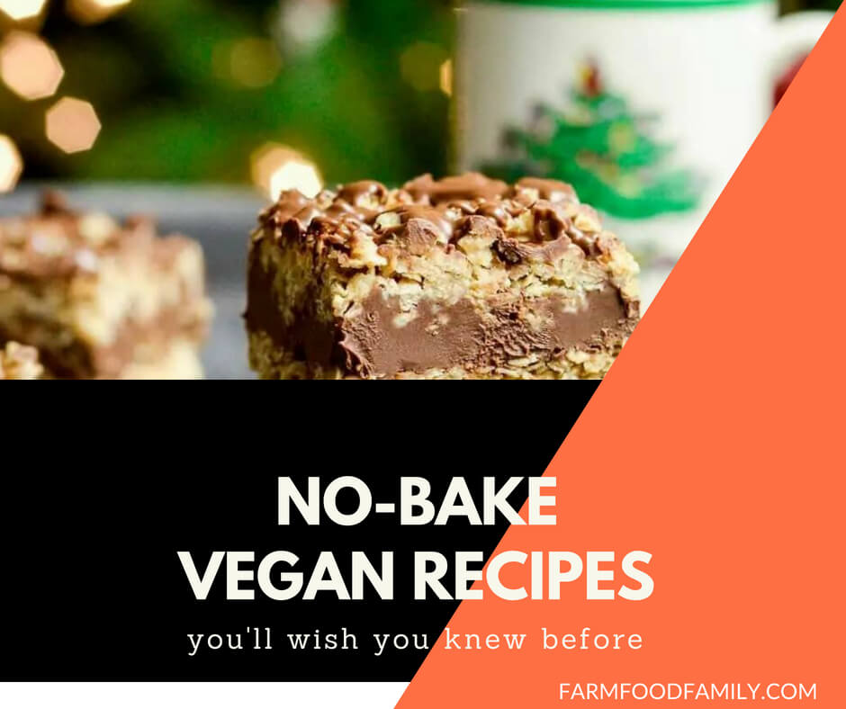 27+ Tasty No Bake Vegan Recipes For Your Family