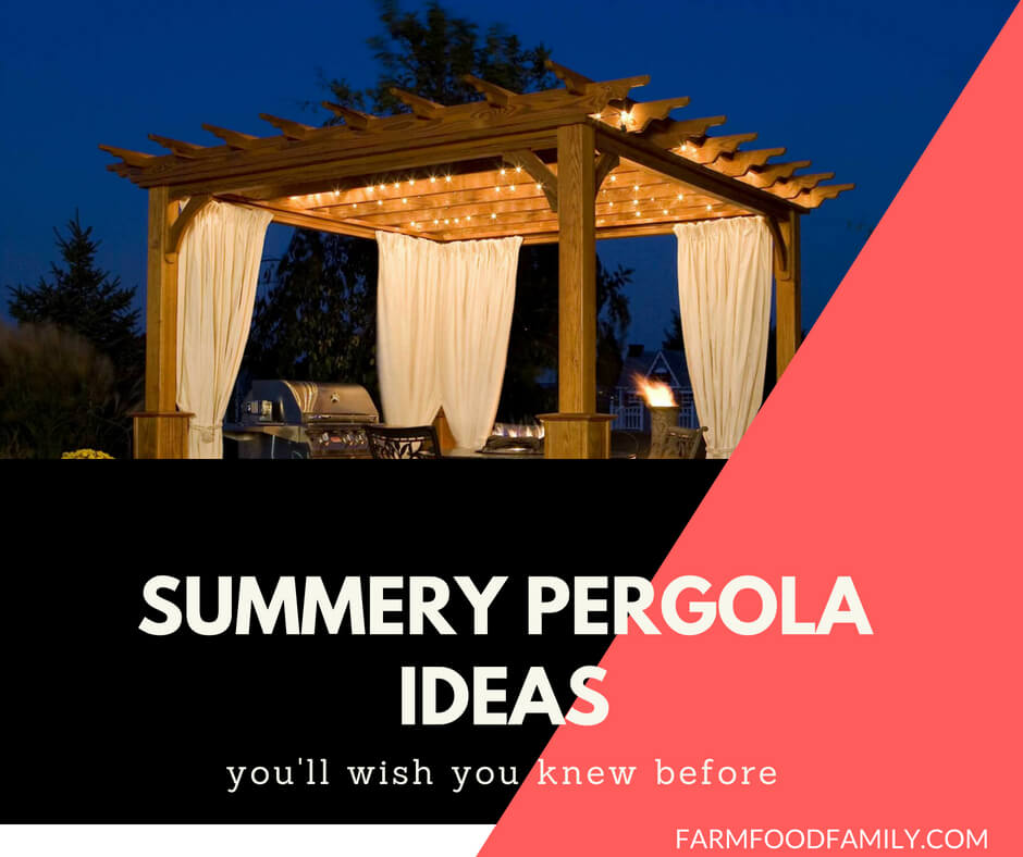 Best Summery Pergola Ideas For Your Garden