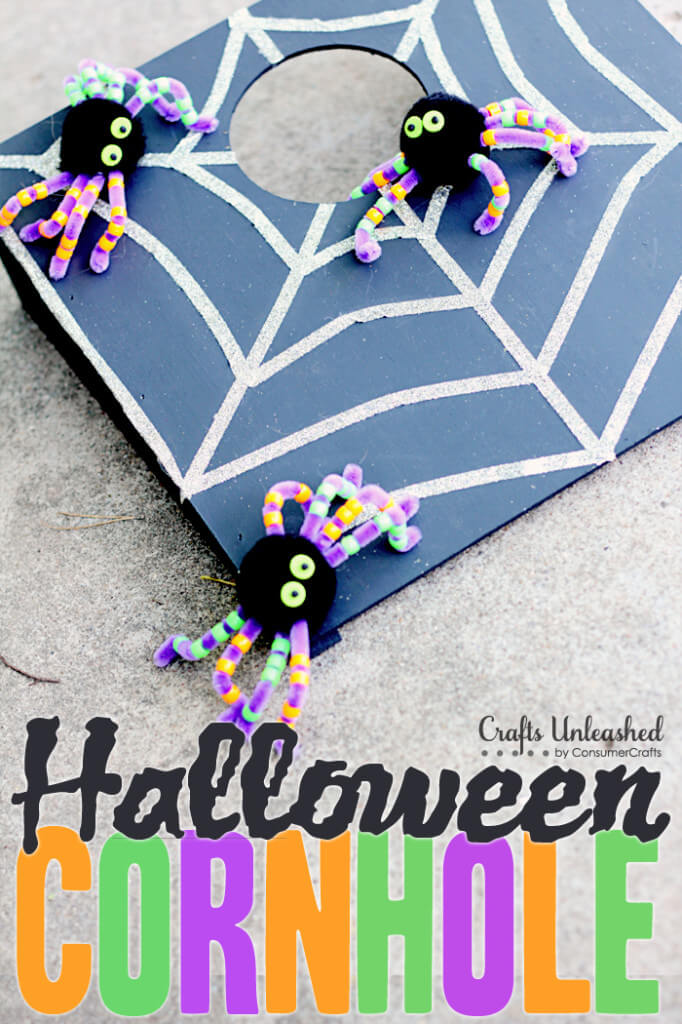 Child-Size Cornhole that's Entertaining and Adorable | Awesome DIY Halloween Party Decor | BHG Halloween