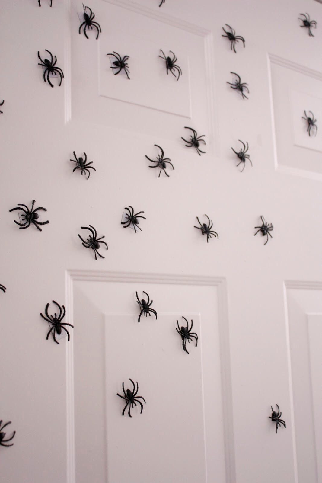 Super Spiders Invade | DIY Indoor Halloween Decorating Ideas