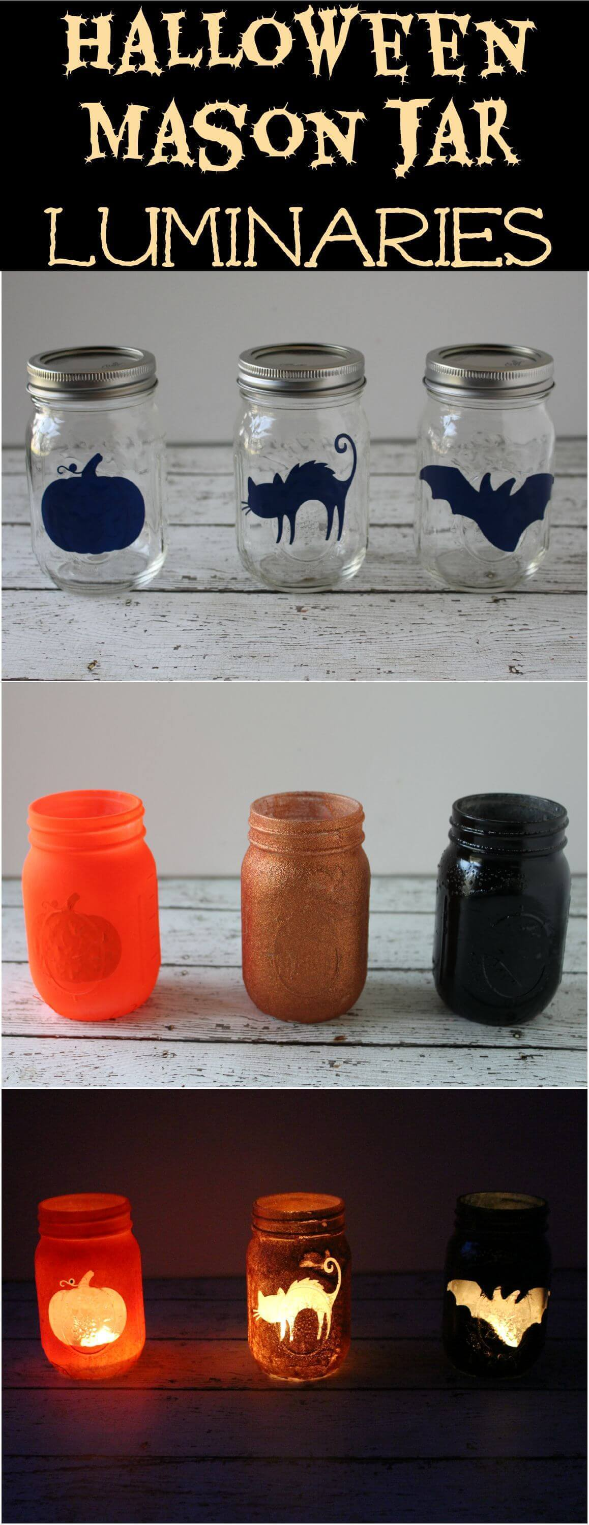 DIY Mason Jar Halloween Crafts: Fun and Fancy Mason Jar Halloween Craft