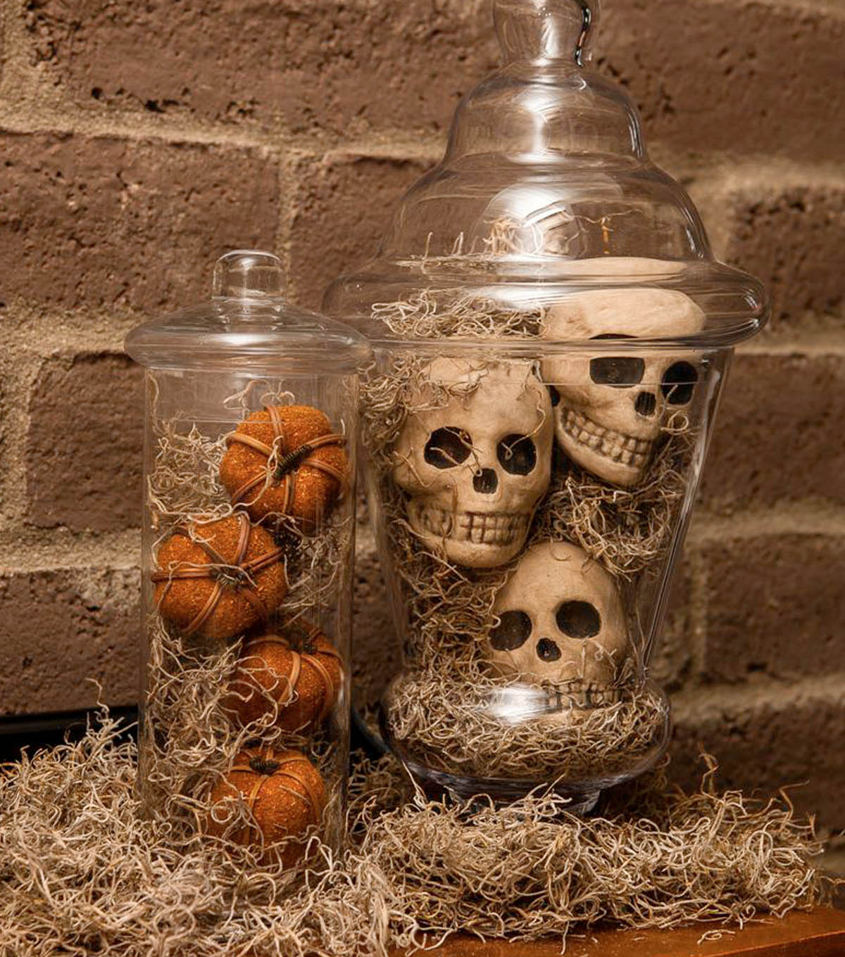 Apothecary Jars Add Panache to Everyday Decorations | DIY Indoor Halloween Decorating Ideas