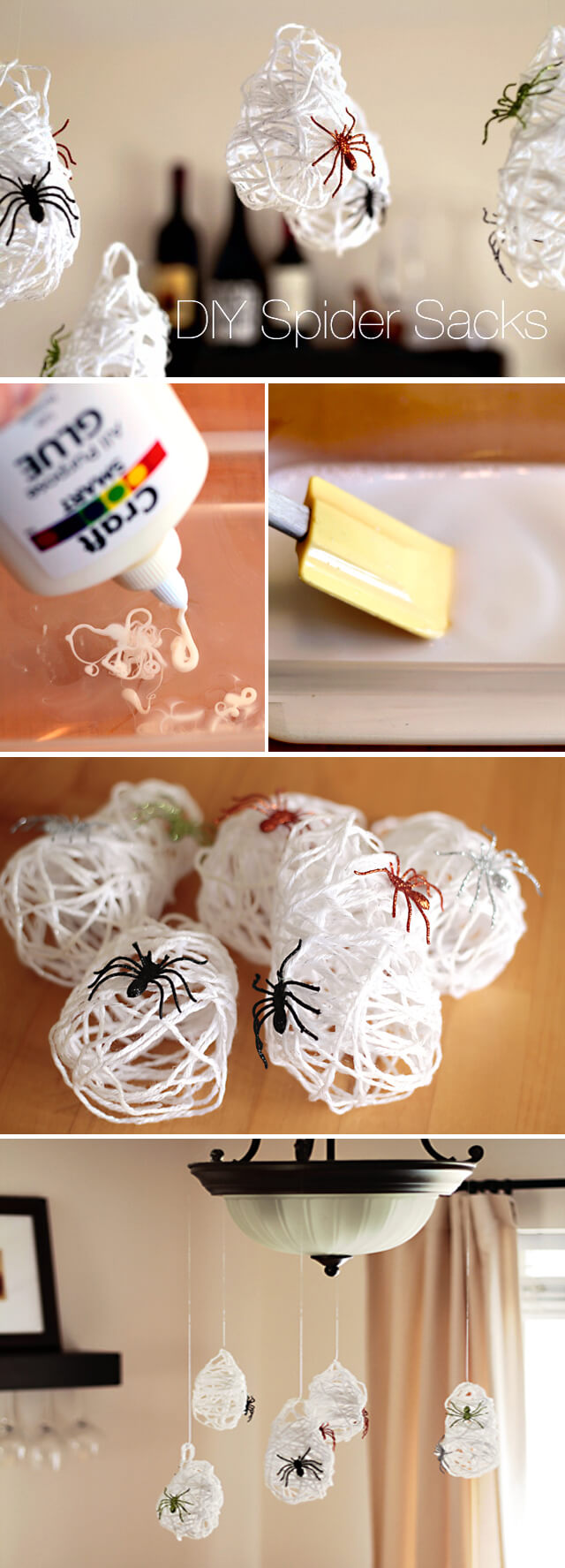 The Spiders are at Home | Awesome DIY Halloween Party Decor | BHG Halloween