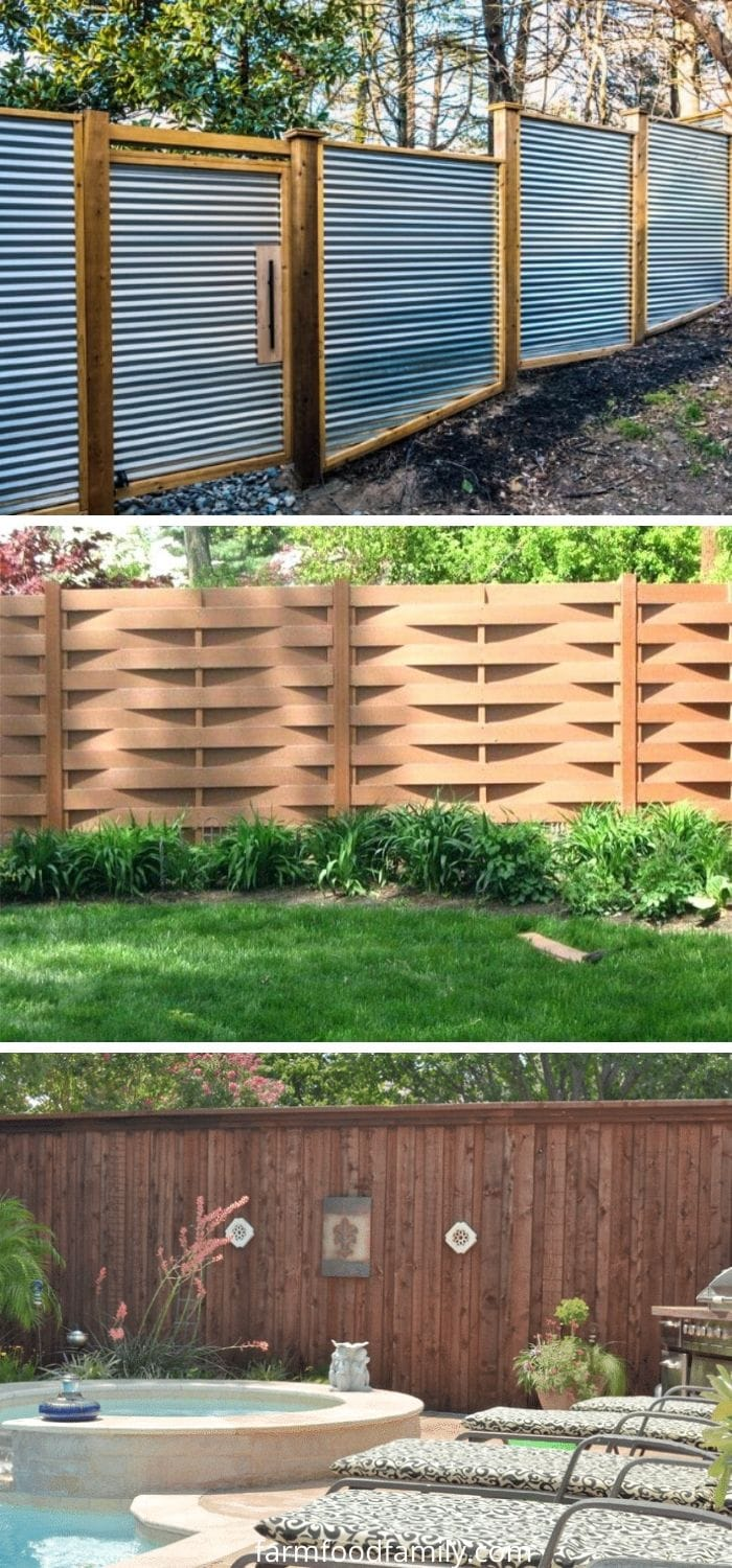 Beautiful Privacy fence ideas for your backyard landscaping