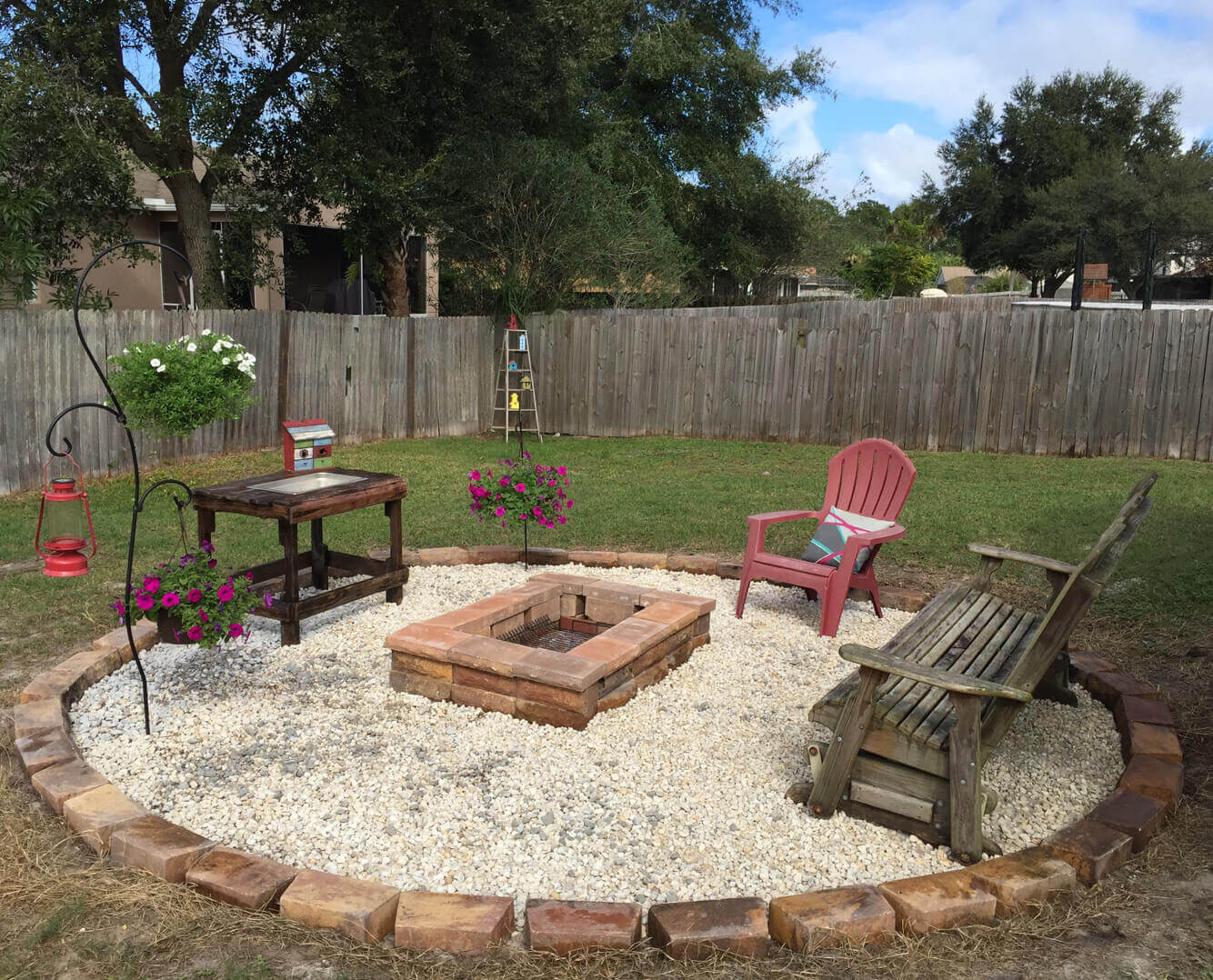A Stone Grilling Pit for your Backyard   Awesome Firepit Area Ideas For Your Outdoor Activities