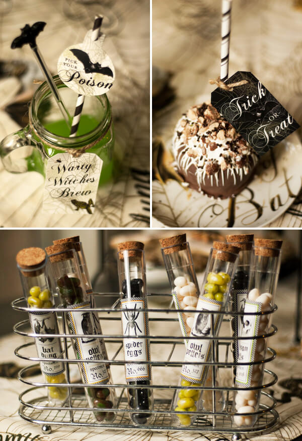 The Freaky Brew | Awesome DIY Halloween Party Decor | BHG Halloween